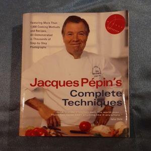 Jacques Pepin Cookbook